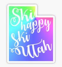 ski utah  Sticker
