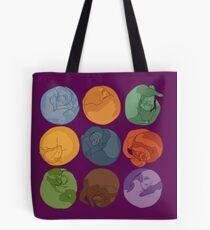 Sleeping ferrets Tote Bag