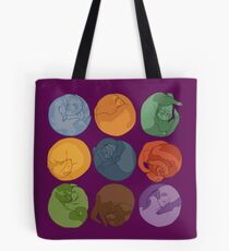 Sleeping ferrets Tote Bag