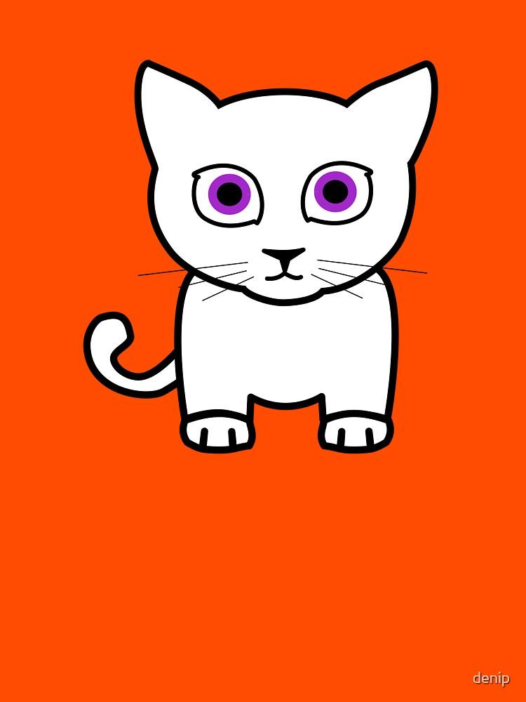 Cat  by denip