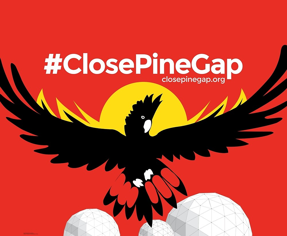 #ClosePineGap Red Banner by closepinegap