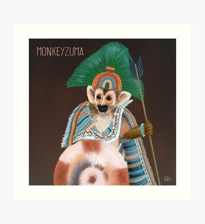 Monkeyzuma Art Print