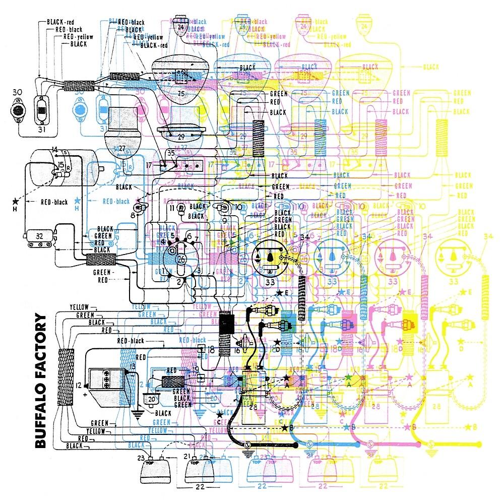 Buffalo Factory- CMYK Wiring Diagram by buffalofactory