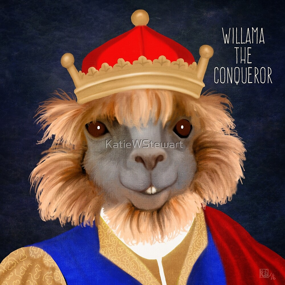 Willama the Conqueror by KatieWStewart