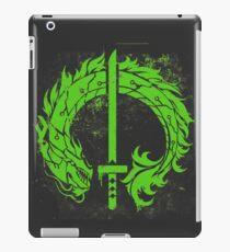 Genji Green Dragon Tag iPad Case/Skin