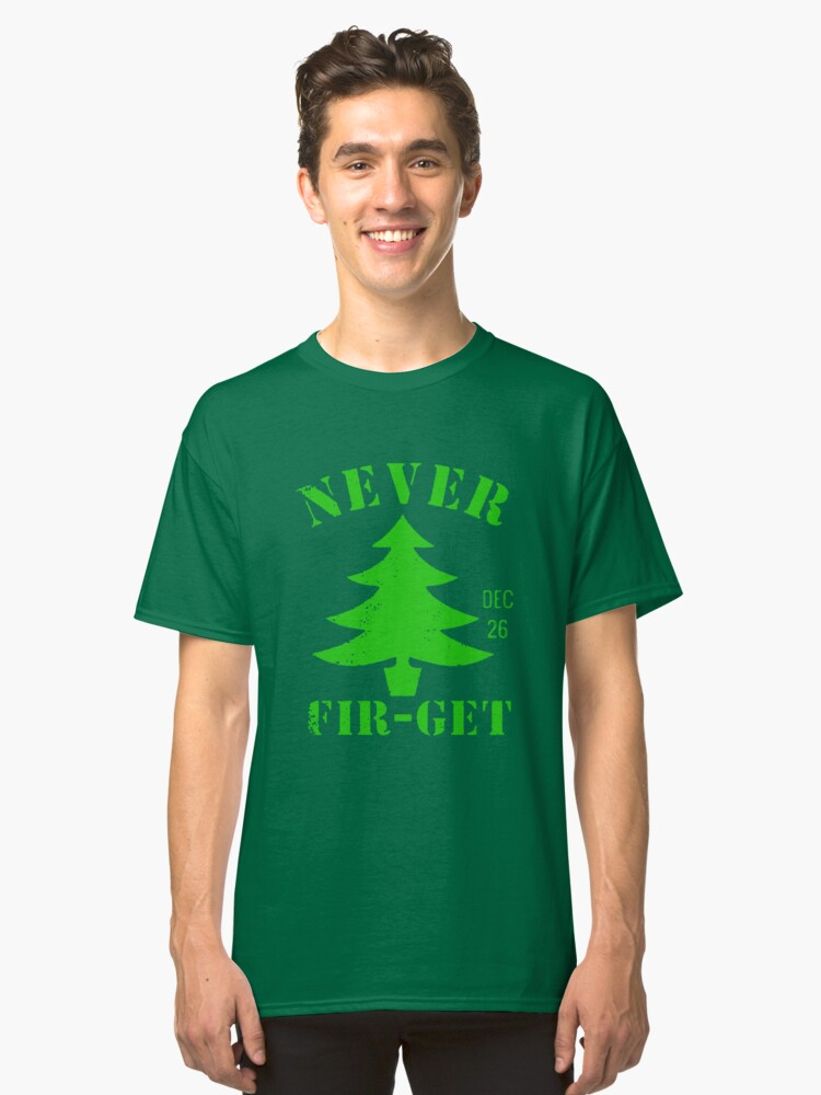 Day After Christmas Classic T-Shirt Front