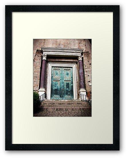 The Green Door by Studio8107