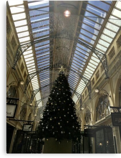 Christmas Tree In The Mall by Michael McGimpsey