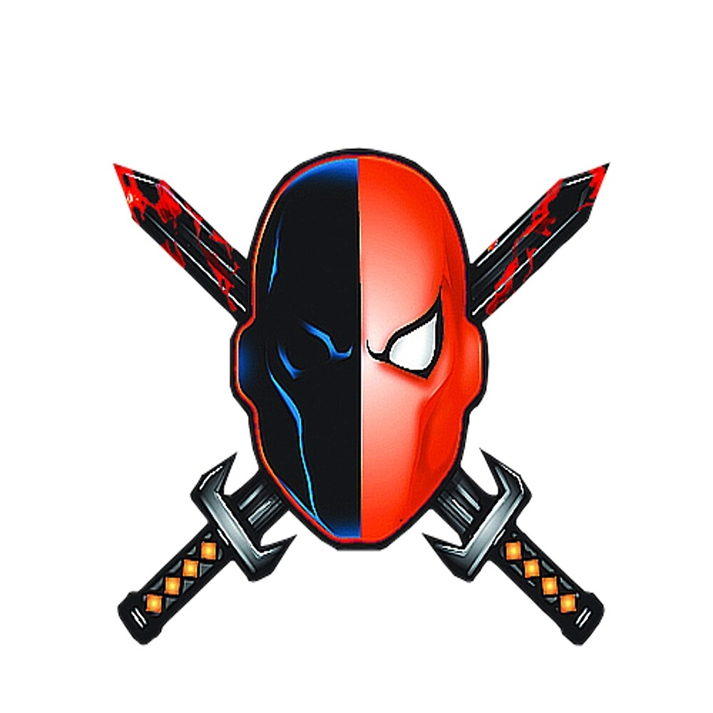 Deathstroke Mask logo by IVLeague
