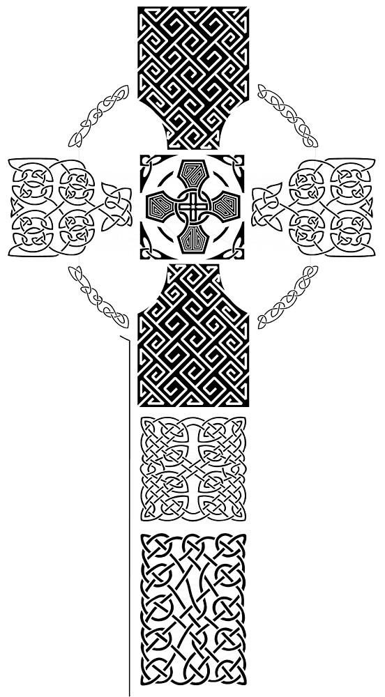 Celtic Cross (2) by CatholicSaints