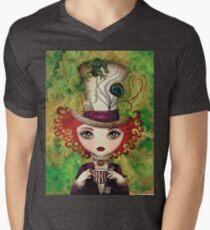 Lady Hatter Men's V-Neck T-Shirt