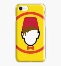 Man With Fez iPhone Case/Skin