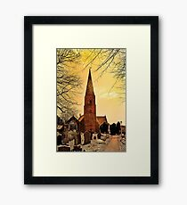 Church of Saint Mary Framed Print