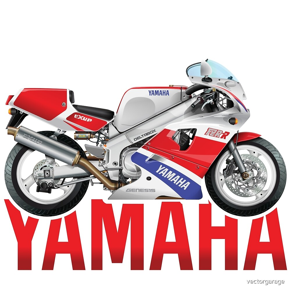 YAMAHA FZR OW 01 by vectorgarage