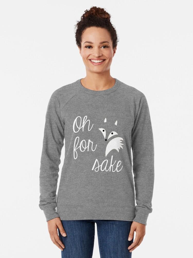Alternative Ansicht von Oh um Himmels willen Leichter Pullover