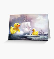 Terror on the High Seas 2 Greeting Card