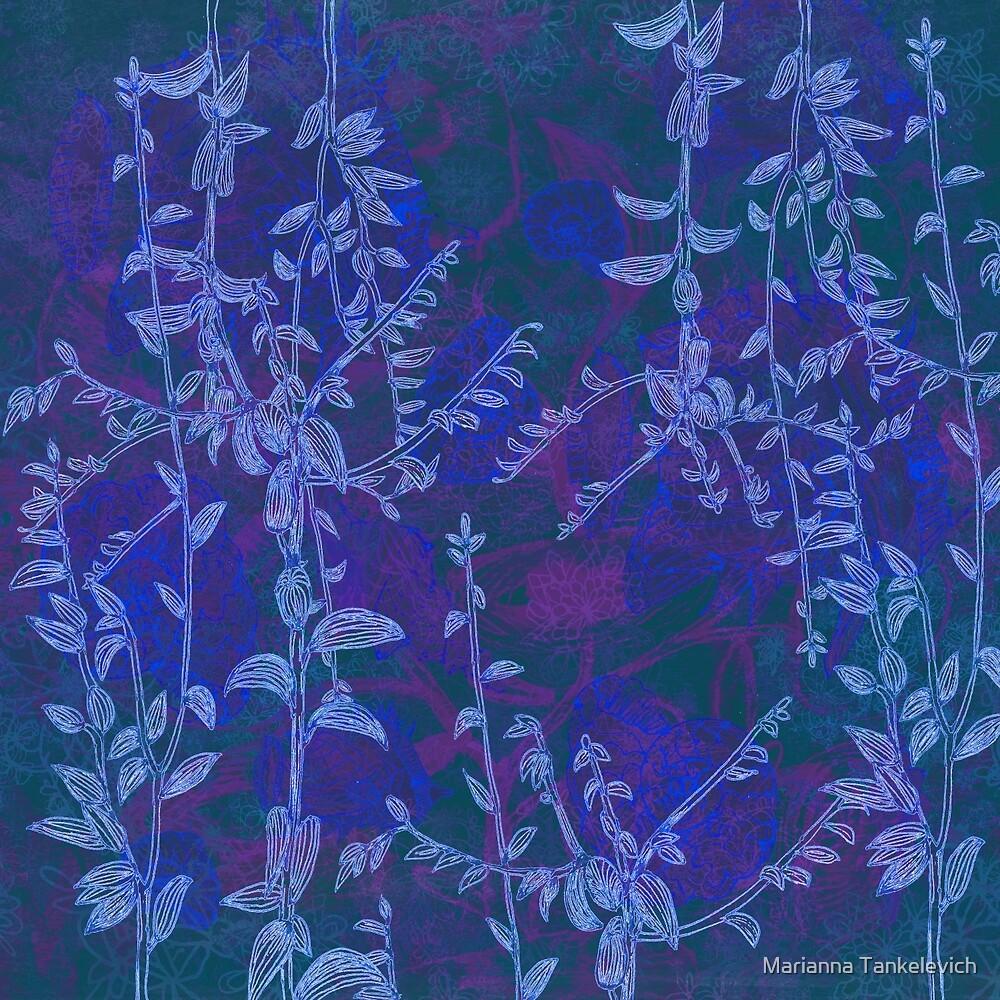 blue botanics by Marianna Tankelevich