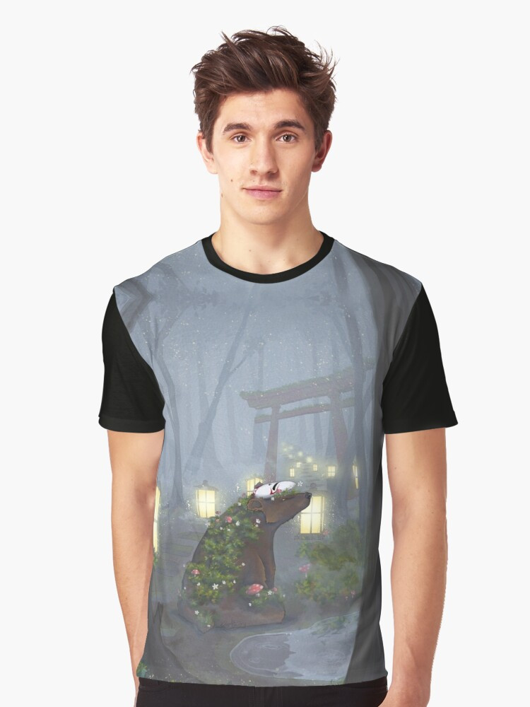 Forest Spirit Graphic T-Shirt Front