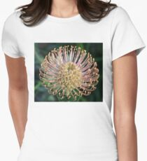Happy Leucospermum Women's Fitted T-Shirt