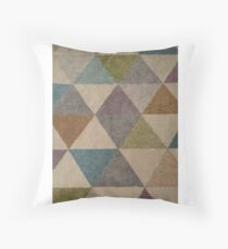 Geometric Colours Larger Throw Pillow