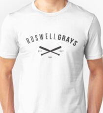 X Files: Roswell Grays Baseball T-Shirt
