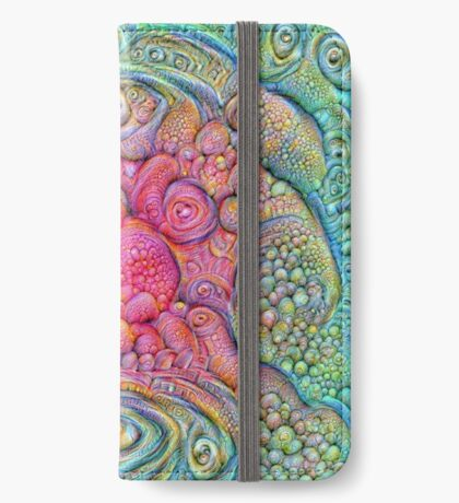 State of matter — Mesophase #DeepDream iPhone Wallet