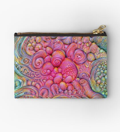 State of matter — Mesophase #DeepDream Zipper Pouch
