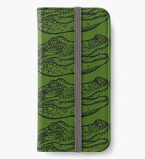 Croc iPhone Wallet