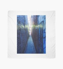 Narrow City Laneway As Night Falls  Scarf