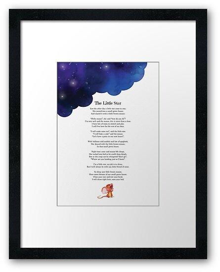 The Little Star Poem by StarStudio