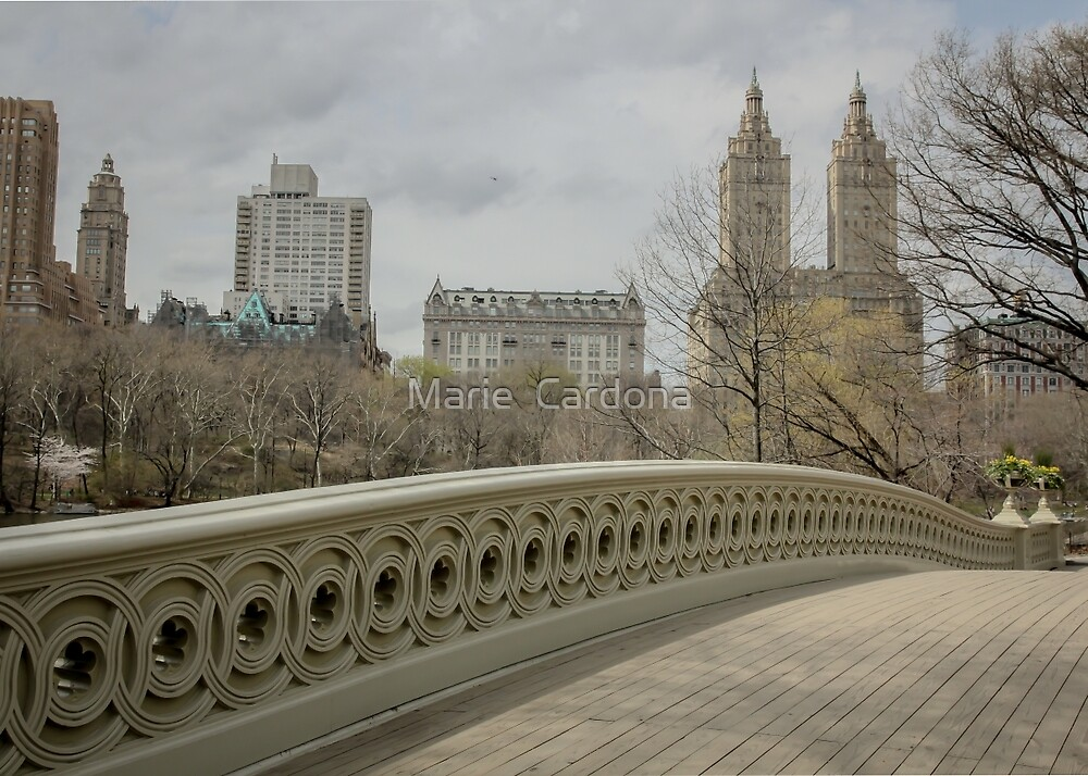 Bow Bridge by Marie  Cardona