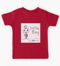 Mila Bug The Little Ladybird Kids Tee