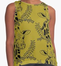 Giraffe and Acacia Contrast Tank
