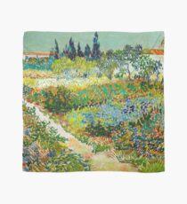 1888-Vincent van Gogh-Garden at Arles, Flowering Garden with Path-88x102 Scarf