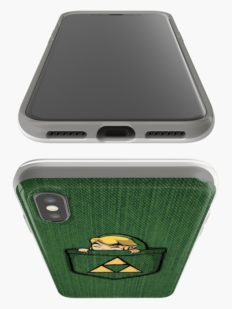 Alternate view of Legend of Zelda - Pocket Link iPhone Case & Cover