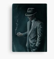 50s Gangster Canvas Print