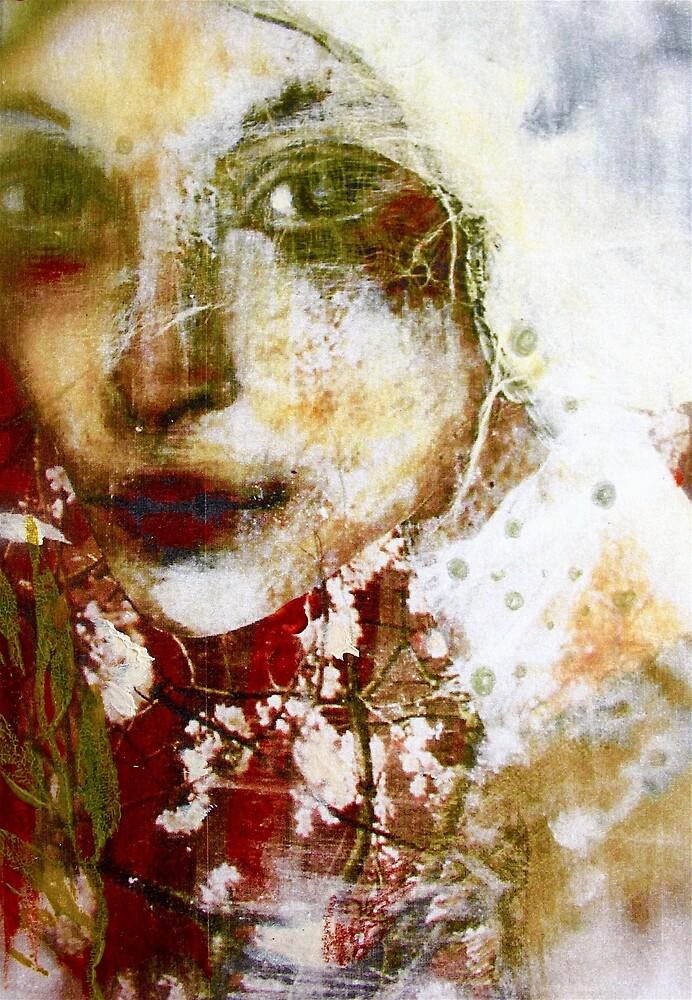 WHITE LILY by Reny Kramer