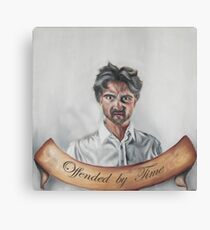 Offended by time (english version) Canvas Print