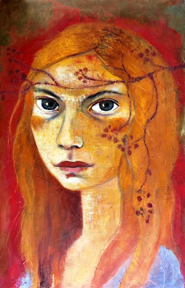 GIRL WITH RED HAIR by Reny Kramer