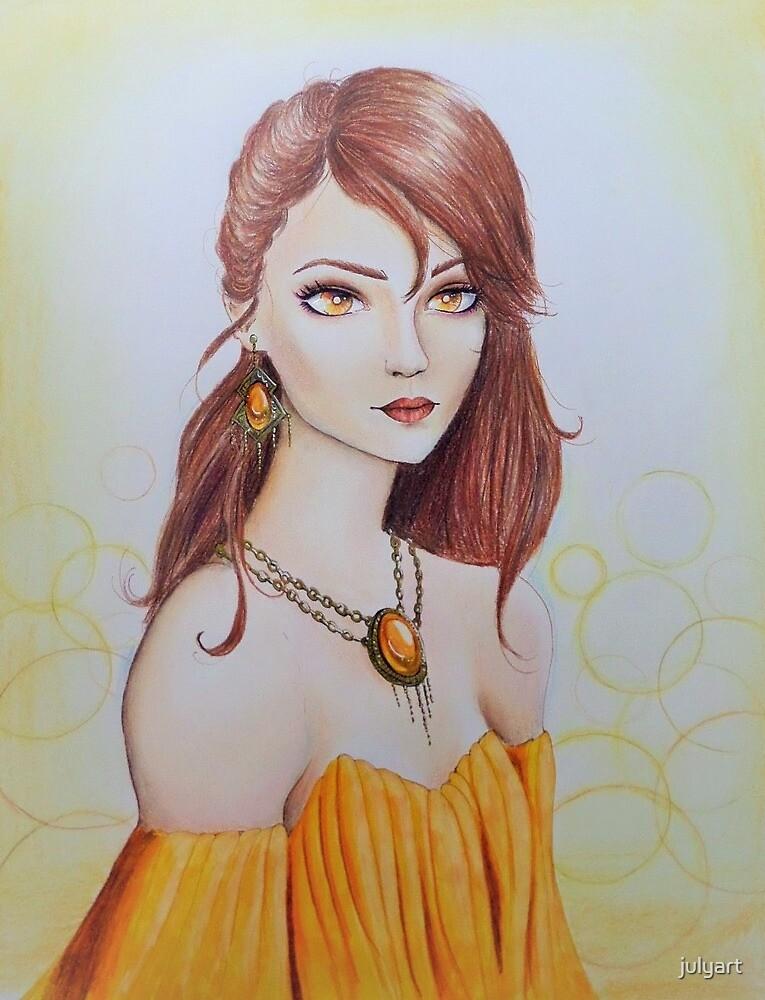 Sun Goddess by julyart