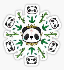 Pandala - Mandala Panda Sticker