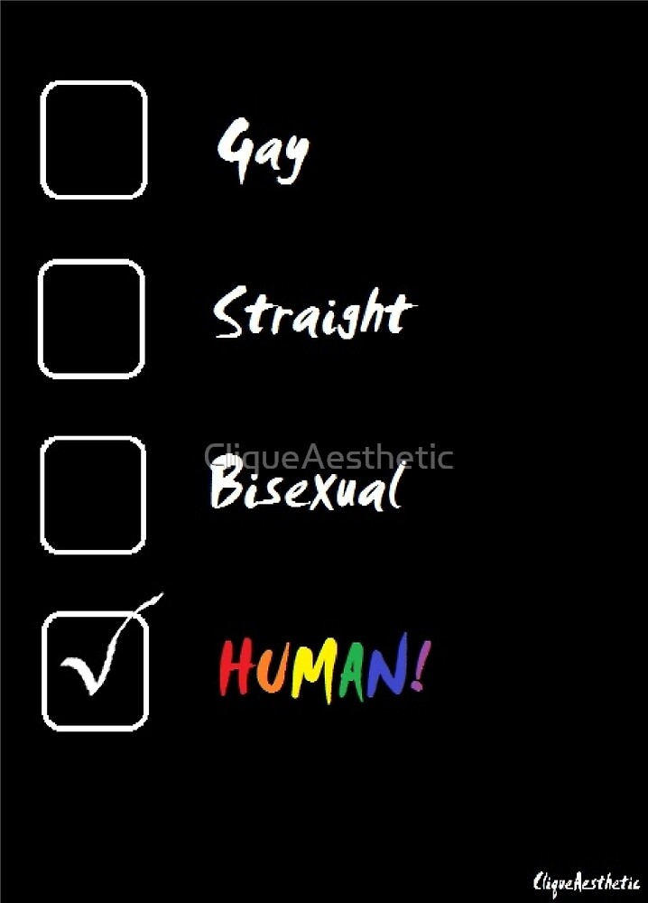 LGBT Human Checklist by CliqueAesthetic