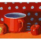 Red Cup by David  Kennett