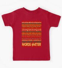 Words Matter Kids Tee