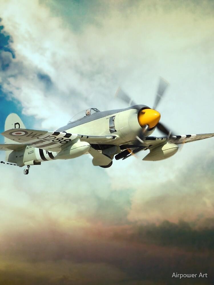 Sea Fury by aviationart