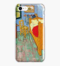 1889-Vincent van Gogh-The bedroom-73,6x92,3 iPhone Case/Skin