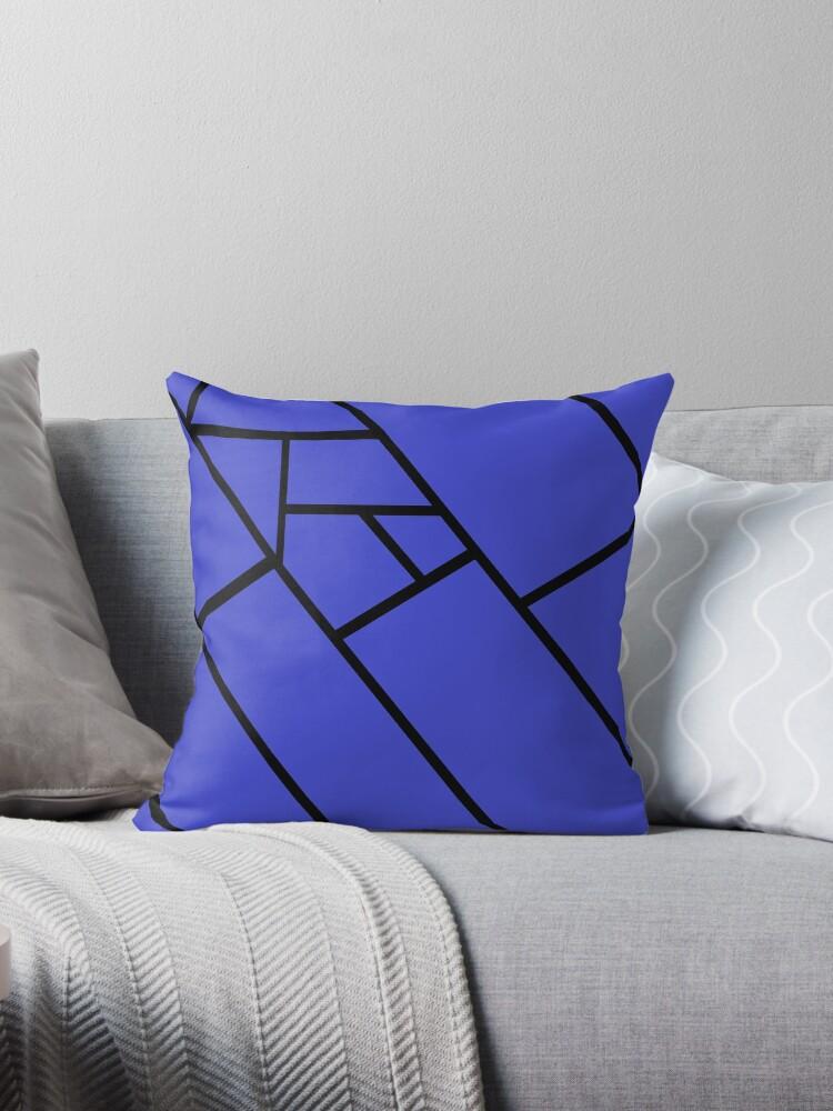 Blue Lines Black by RochelleLee