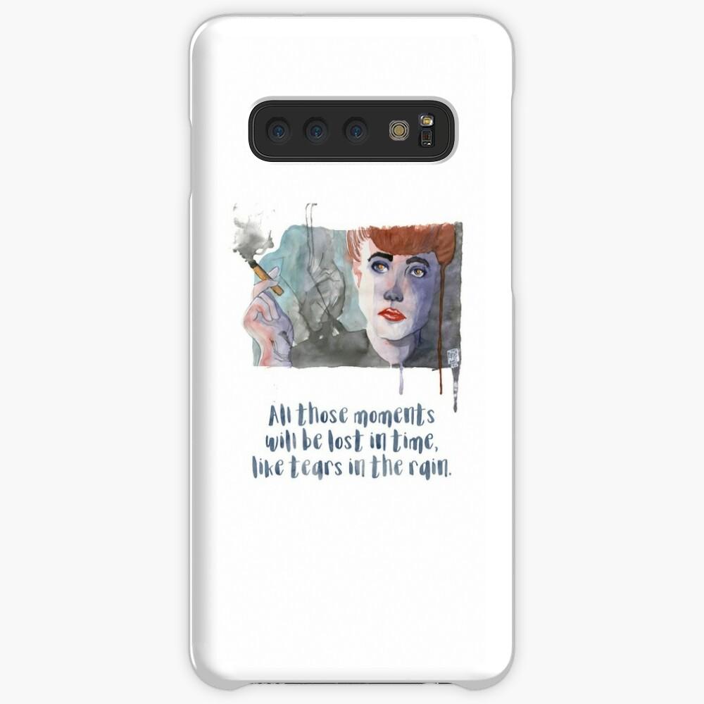 Coque et skin adhésive Samsung Galaxy «Rachel - Blade Runner - Aquarelle»