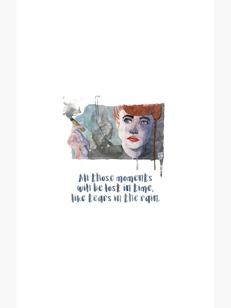 «Rachel - Blade Runner - Aquarelle» par Zosmala