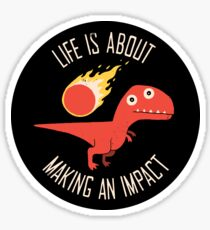 Making An Impact Sticker